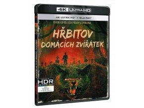 Hřbitov domácích zvířátek (1989, 4k Ultra HD Blu-ray + Blu-ray)