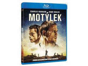 Motýlek (2017, Blu-ray)