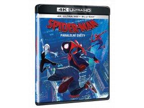 Spider-Man: Paralelní světy (4k Ultra HD Blu-ray + Blu-ray)