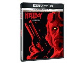 Hellboy (4k Ultra HD Blu-ray + Blu-ray, Kinoverze i rozšířený sestřih)