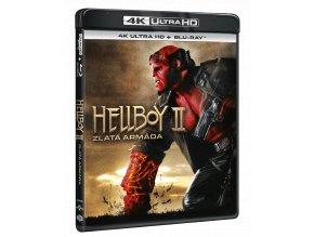 Hellboy 2: Zlatá armáda (4k Ultra HD Blu-ray + Blu-ray)
