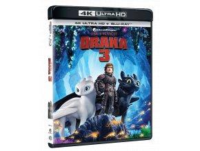 Jak vycvičit draka 3 (4k Ultra HD Blu-ray + Blu-ray)