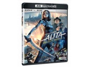 Alita: Bojový anděl (4k Ultra HD Blu-ray + Blu-ray)