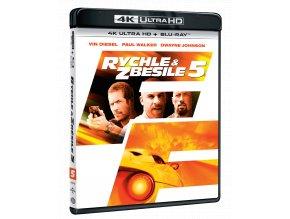 Rychle a zběsile 5 (4k Ultra HD Blu-ray + Blu-ray)
