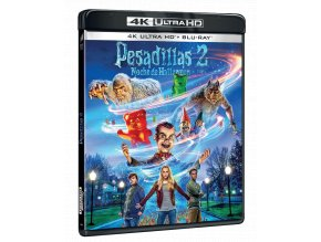 Husí kůže 2: Ukradený Halloween (4k Ultra HD Blu-ray + Blu-ray, CZ dabing a titulky pouze na UHD)