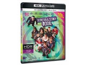 Sebevražedný oddíl (Ultra HD Blu-ray + Blu-ray, Prodloužená i původní verze)