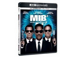 Muži v černém 3 (4k Ultra HD Blu-ray + Blu-ray)