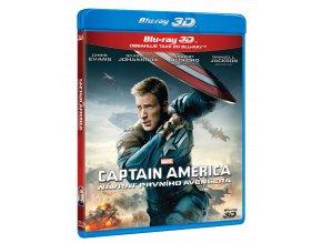Captain America: Návrat prvního Avengera (Blu-ray 3D + Blu-ray 2D)