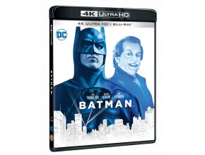 Batman (4k Ultra HD Blu-ray + Blu-ray)