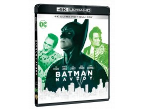 Batman navždy (4k Ultra HD Blu-ray + Blu-ray)