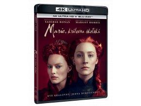 Marie, královna skotská (4k Ultra HD Blu-ray + Blu-ray)