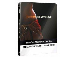 Srdečné pozdravy z Ruska (Steelbook, Blu-ray)