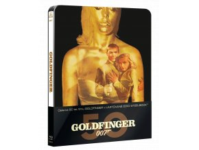 Goldfinger (Steelbook, Blu-ray)