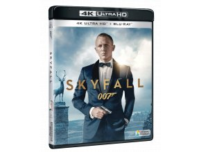 Skyfall (James Bond, 4k Ultra HD Blu-ray + Blu-ray)