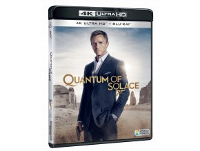 Quantum of Solace (James Bond, 4k Ultra HD Blu-ray + Blu-ray)