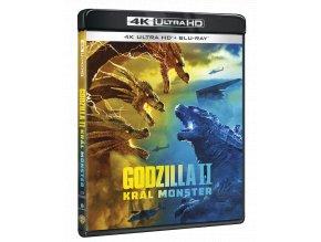 Godzilla II Král monster (4k Ultra HD Blu-ray + Blu-ray)
