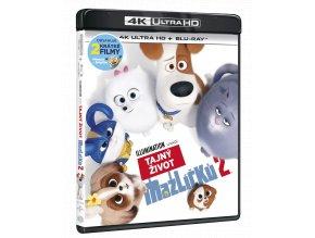 Tajný život mazlíčků 2 (4k Ultra HD Blu-ray + Blu-ray)