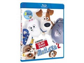 Tajný život mazlíčků 2 (Blu-ray)