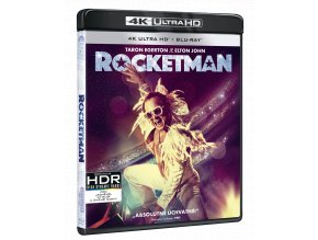 Rocketman (4k Ultra HD Blu-ray + Blu-ray)