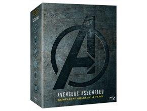 Kolekce Avengers 1-4 (4x Blu-ray)