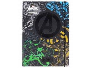 Zápisník Marvel: Avengers (A5, 240 stran)