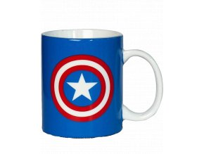 Hrnek Marvel: Captain America - štít (300 ml)