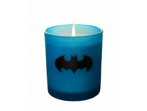 Skleněná svíčka DC Comics: Batman (520 g, 50 hodin hoření)