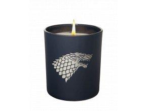 Svíčka Game of Thrones: Stark (520 g, 50 hodin hoření)