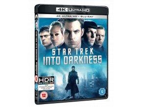 Star Trek: Do Temnoty (4k Ultra HD Blu-ray + Blu-ray, bez CZ)
