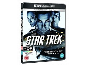 Star Trek (4k Ultra HD Blu-ray + Blu-ray, bez CZ podpory)