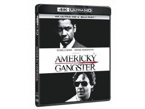 Americký gangster (4k Ultra HD Blu-ray + Blu-ray)