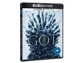Hra o trůny - 8.sezóna (3x 4k Ultra HD Blu-ray + 3x Blu-ray)