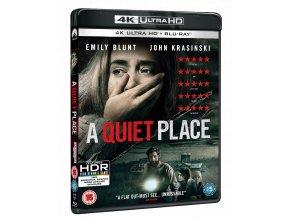 Tiché místo (4k Ultra HD Blu-ray + Blu-ray, CZ pouze na UHD)
