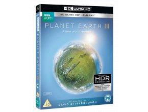 Zázračná planeta II (2x 4k Ultra HD Blu-ray, 2x Blu-ray, bez CZ podpory)