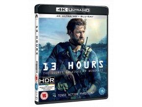 13 hodin: Tajní vojáci z Benghází (4k Ultra HD Blu-ray + Blu-ray, bez CZ podpory)