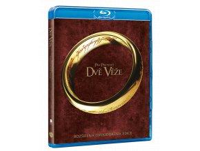Pán prstenů: Dvě věže (Rozšířená edice, 2x Blu-ray)