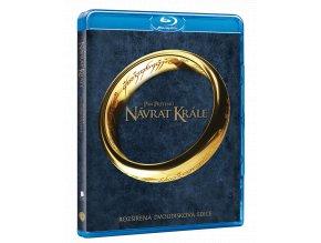 Pán prstenů: Návrat krále (Rozšířená edice, 2x Blu-ray)