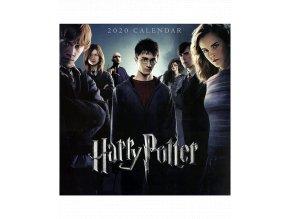 Nástěnný kalendář Harry Potter (rok 2020, 30x60 cm)