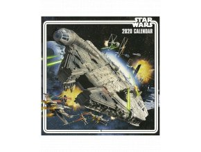Nástěnný kalendář Star Wars (rok 2020, 30x30/60 cm)