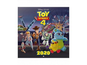 Nástěnný kalendář Pixar: Toy Story (rok 2020, 30x30/60 cm)