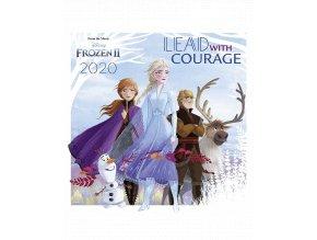 Nástěnný kalendář Disney: Ledové království (rok 2020, 30x30/60 cm)