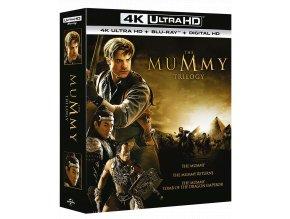 Mumie 1-3 (3x 4k Ultra HD Blu-ray + Blu-ray, CZ pouze na UHD)