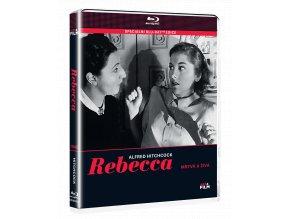 Rebecca / Mrtvá a živá (Blu-ray + kniha)