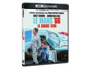Le Mans '66 (4k Ultra HD Blu-ray + Blu-ray, CZ pouze na UHD)