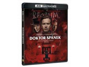 Doktor Spánek od Stephena Kinga (Kinoverze + Director´s Cut, 4k Ultra HD Blu-ray + Blu-ray)