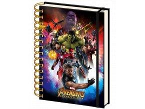 zapisnik marvel avengers infinity war