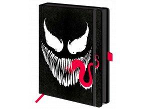 Zápisník Marvel: Venom (A5, pevná vazba v napodobenině kůže)
