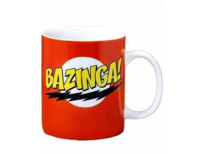 Hrnek Teorie velkého třesku: Bazinga! (300 ml)