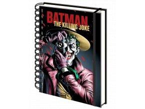 zapisnik dc comics batman the killing joke