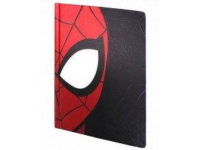 Zápisník Marvel: Spider-Man - maska (A5, pevná vazba, linkovaný)